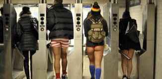 no pants subway ride new york city