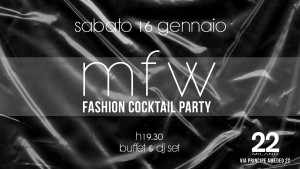 fashion cocktail party MFW16