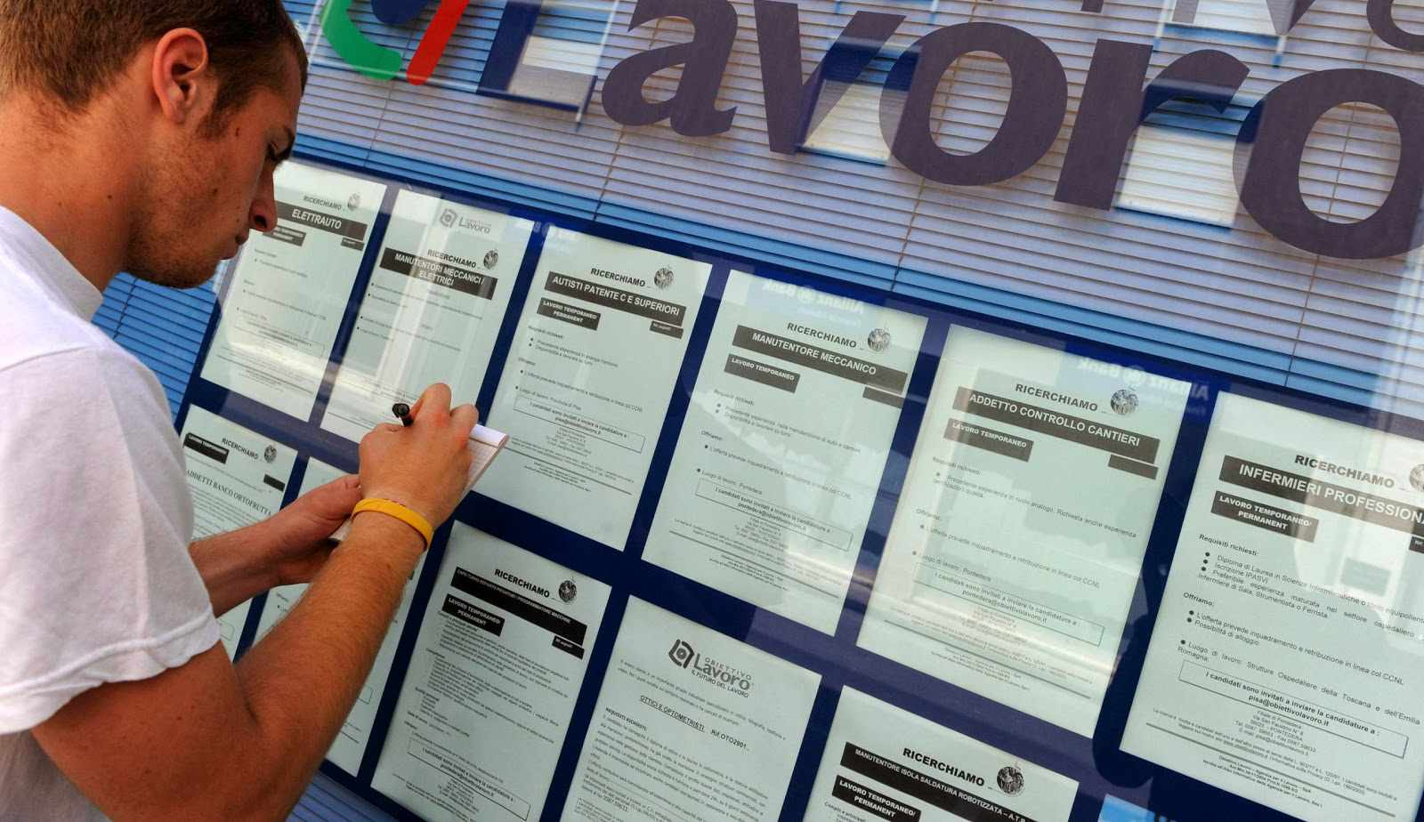 Lavoro dati Lombardia