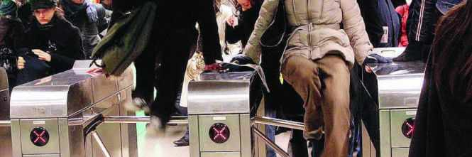 tornelli metro atm milano