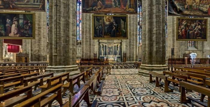 Interno Duomo Milano