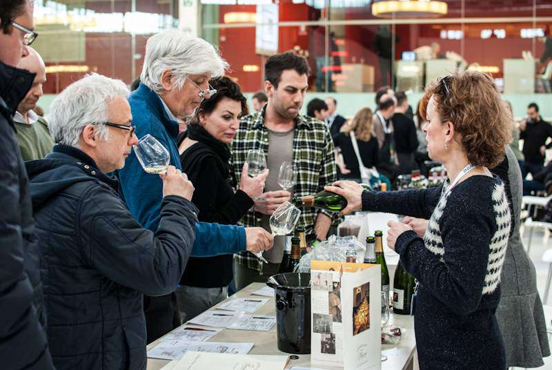 salone del vino live wine