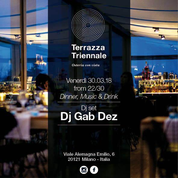 Terrazza Triennale Dinner Party Con Dj Set Milanoevents It