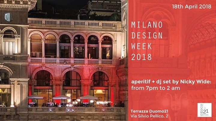 Terrazza Duomo 21 Milan Design Week 2018