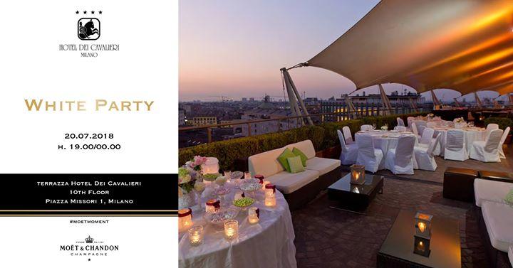 WHITE PARTY In Terrazza Hotel Dei Cavalieri - MILANOEVENTS.IT | News ...