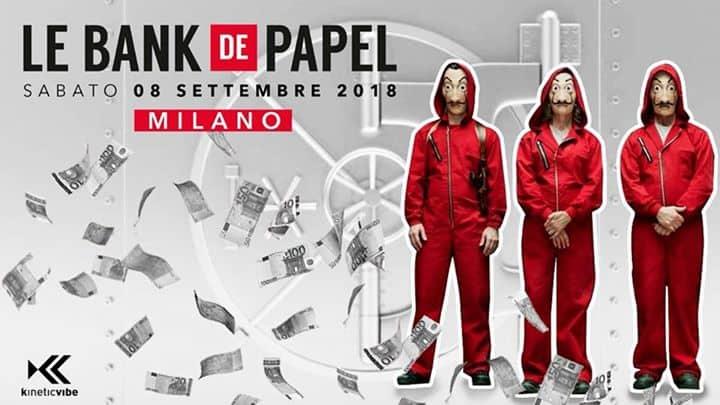 LE bank de papel