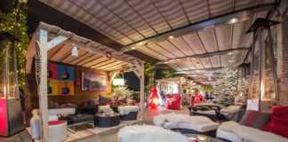 SWISS WINTER lounge terrazza palestro