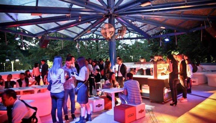 Opening Terrazza Bar Bianco Milano Parco Sempione