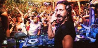 bob sinclar just cavalli milan fashion week