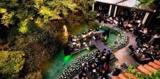 Milan Fashion WEeek Garden Cocktail party