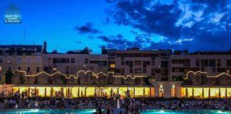 bagni misteriosi aperitivo sotto le stelle piscina milano