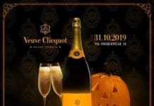 halloween veuve clicquot party