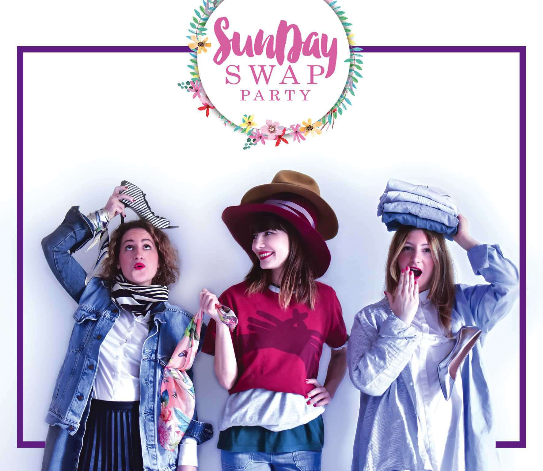 SUNDAY SWAP PARTY