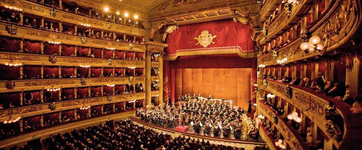 Terremoto concerto TEATRO ALLA SCALA