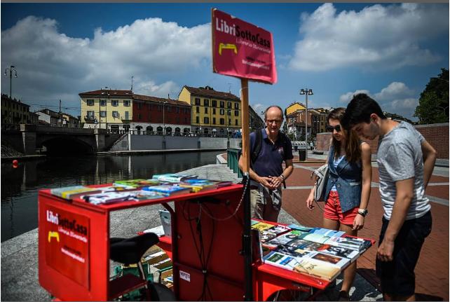 libri sotto casa Milano