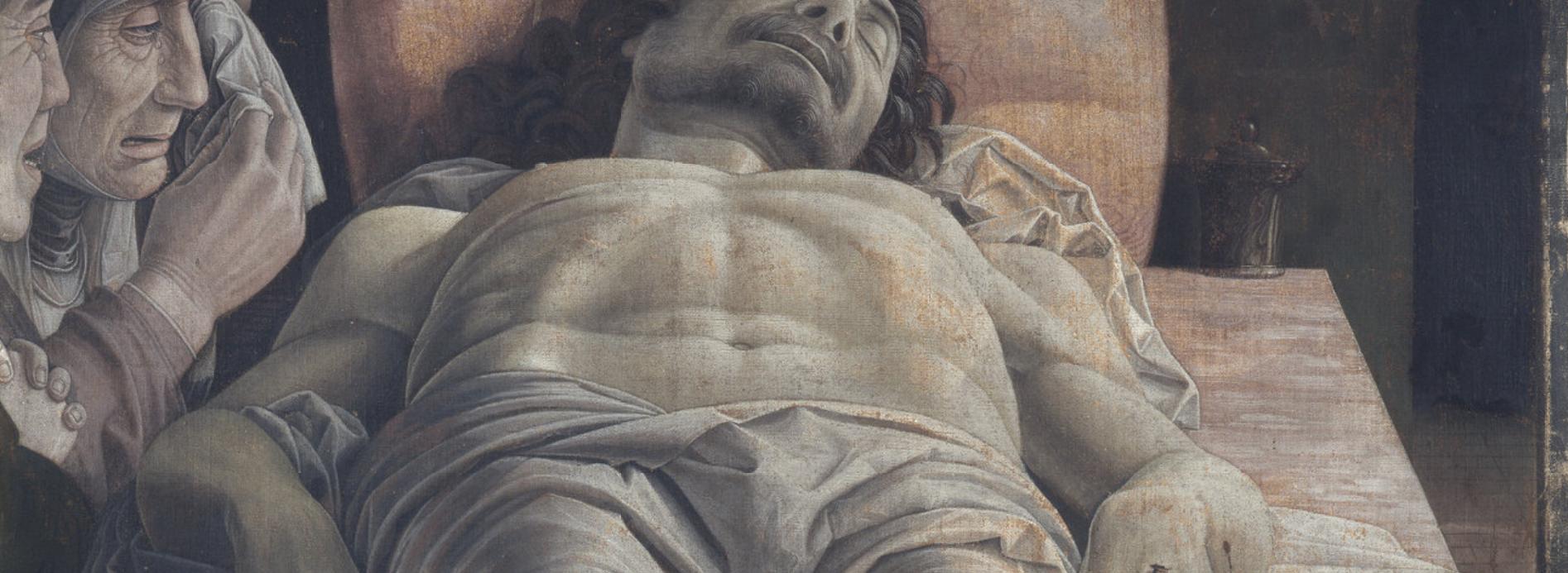 brera cristo di mantegna