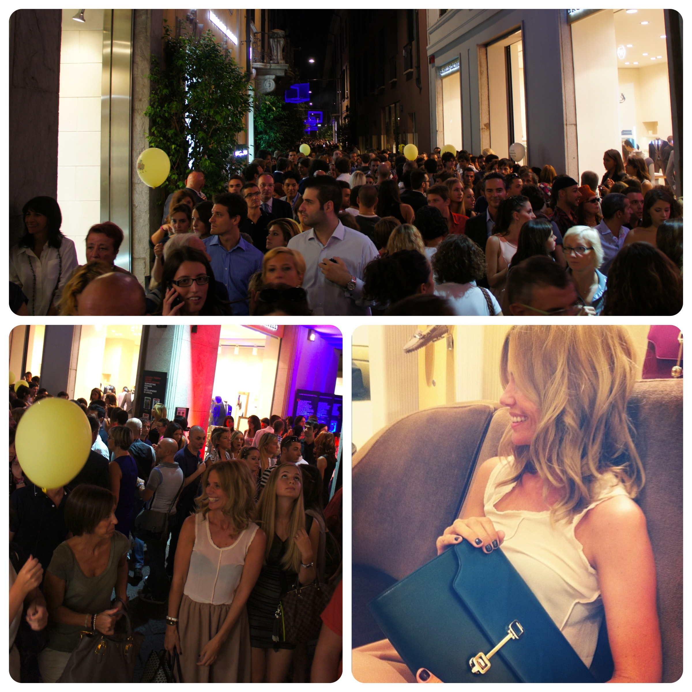vogue fashion's night out milano