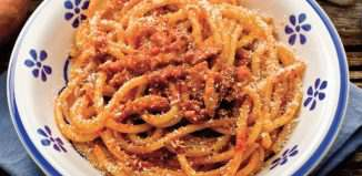 bucatini amatriciana