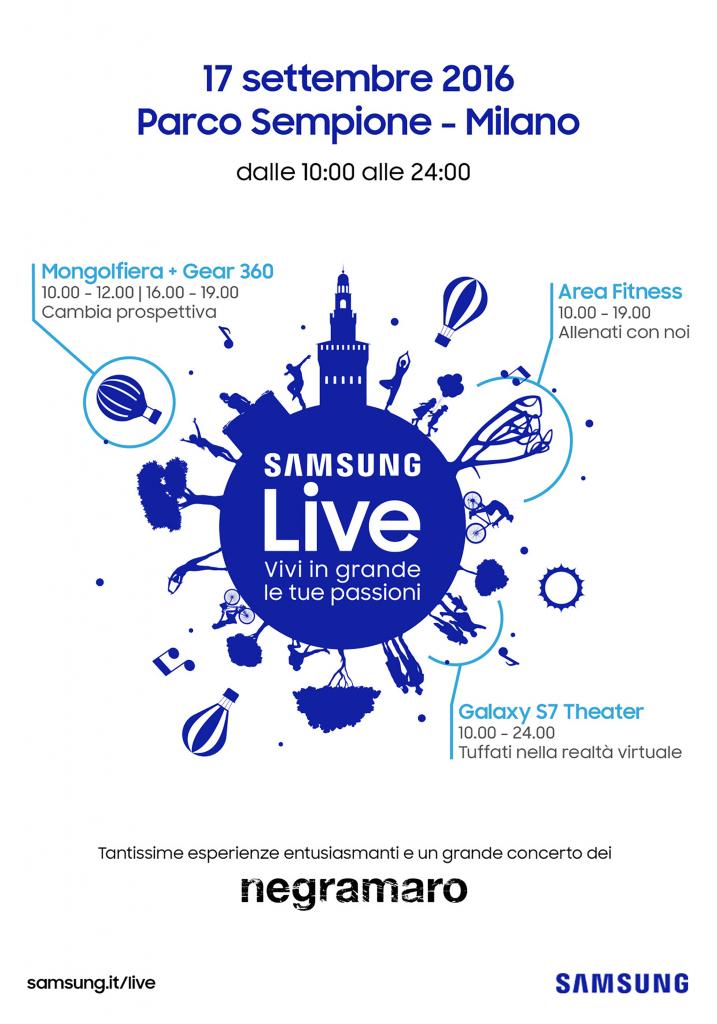 Samsung live programma