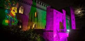 AUTUNNO PAVESE DOC ° La location il Castello Visconteo con le luci di Marco Lodola