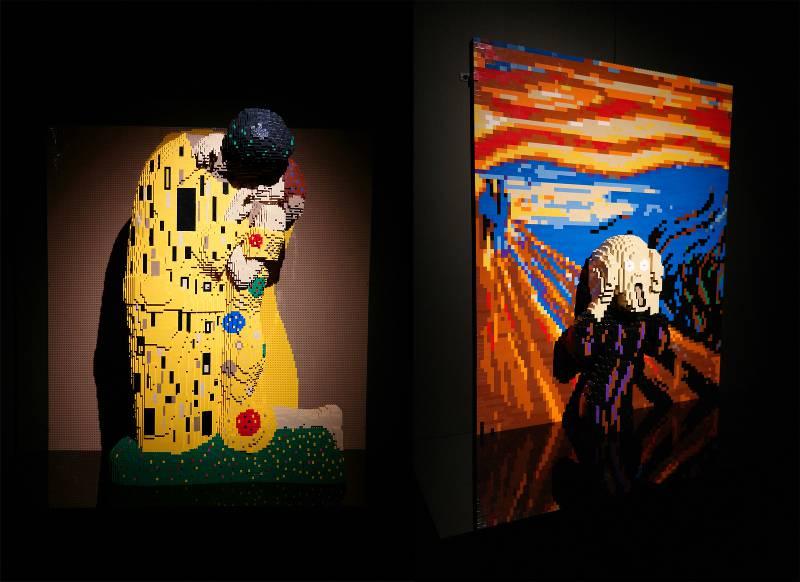 The Art Of The Brick milano