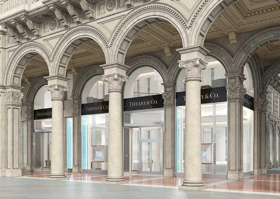tiffany apre una nuova boutique in piazza duomo