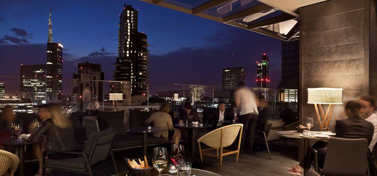 Rooftop milan the 10 best rooftop bars in town english for Best lunch in milan