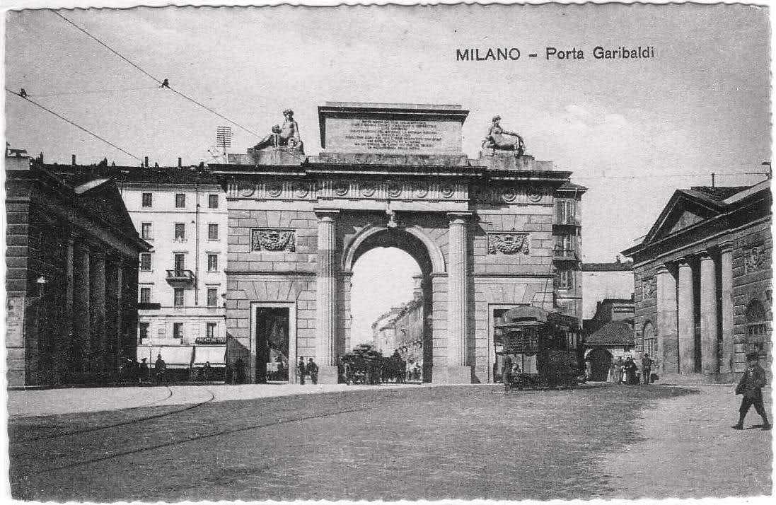 Porte storiche di milano le loro origini e le loro storie - Via porta nuova milano ...