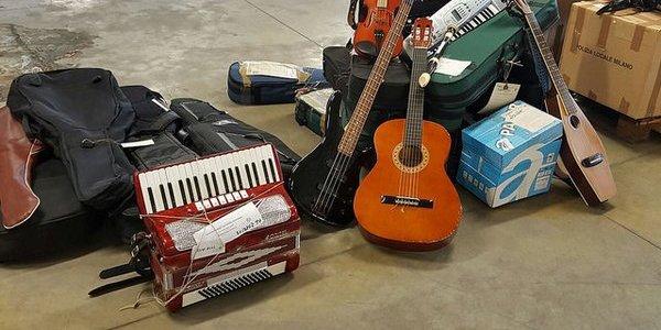 musica strumenti smarriti milano