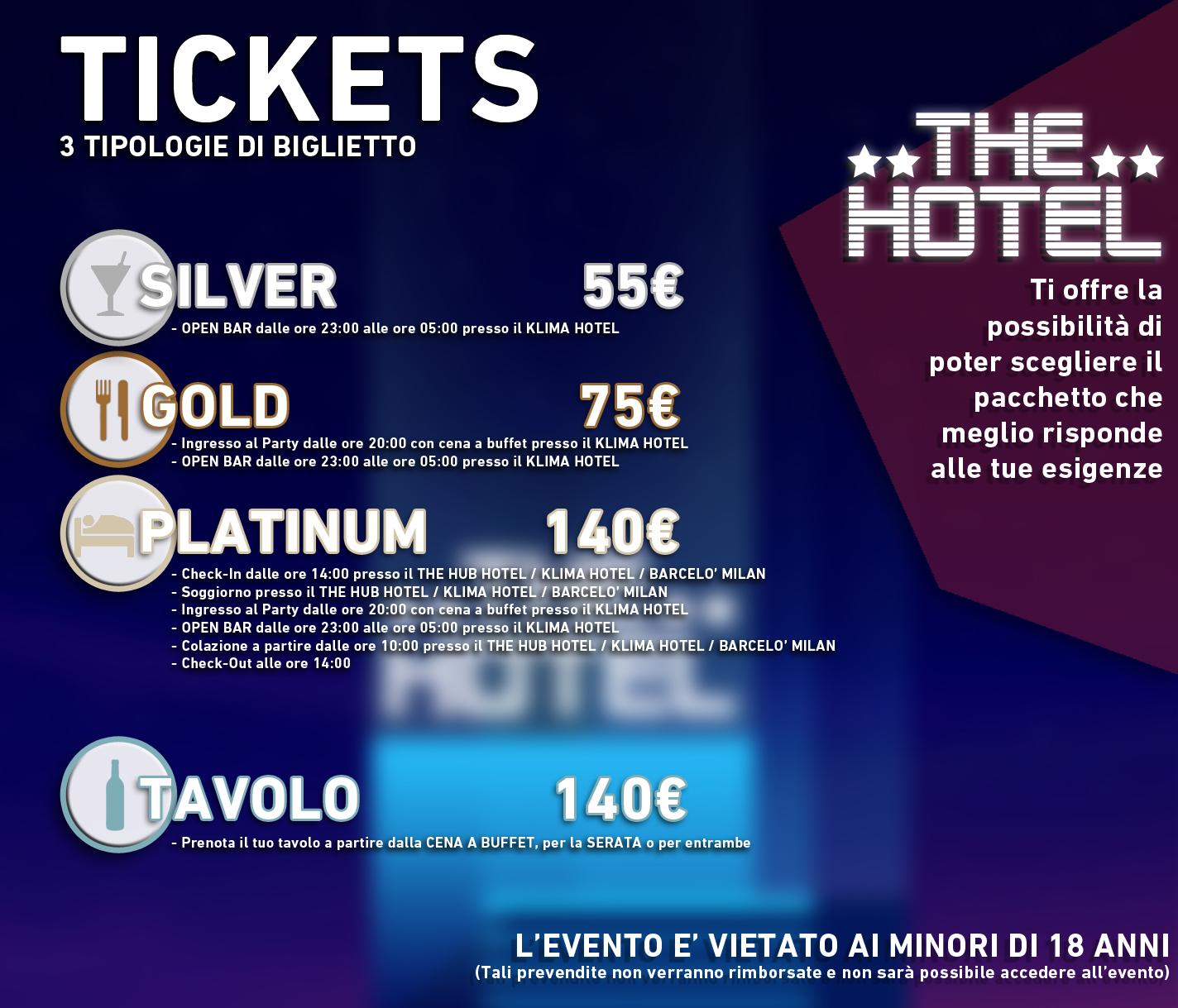 the hotel 2017 tickets-capodanno