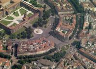 piazza castello riapertura auto milano