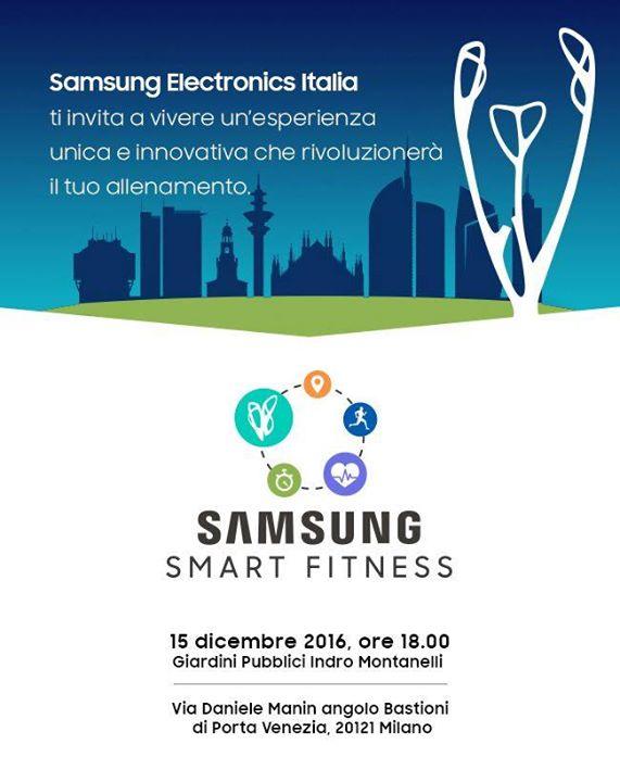 Featured image for 'Samsung Smart Fitness / Show di Luci & DJ SET su accredito'