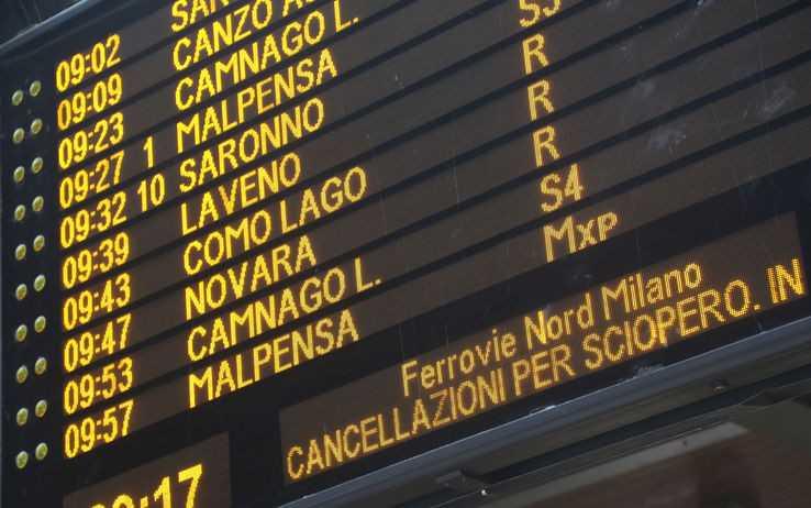 SCIOPERO TRENORD