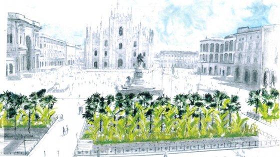 starbucks piazza giardino duomo milano