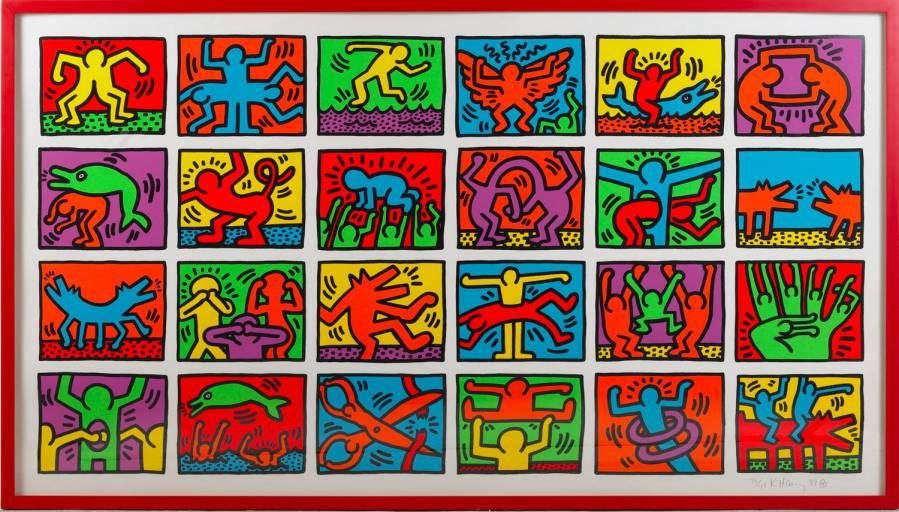 mosta Keith Haring milano