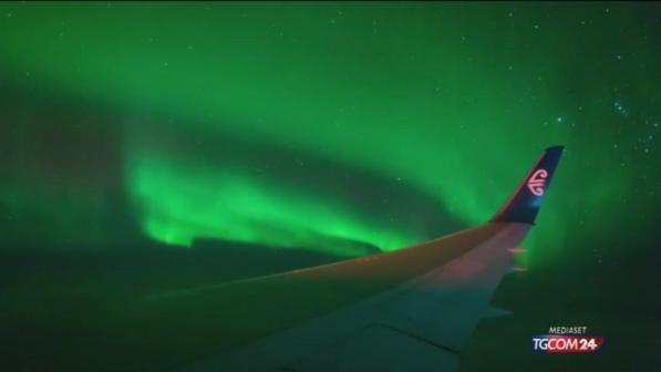 nuova zelanda aurora australe