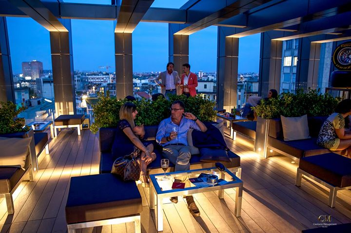 Rooftop Lagare Hotel Cocktail Party Su Accredito
