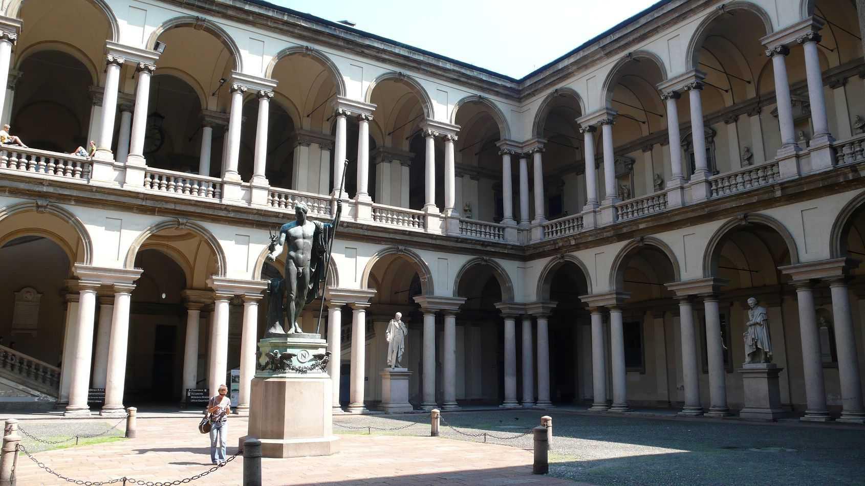 Accademia aperta ingresso libero tra brera gallerie d for Accademia di milano