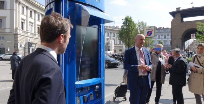 TIM City Link Milano nuove cabine telefoniche