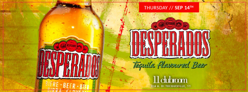 Desperados Beer Party Milano Vfno