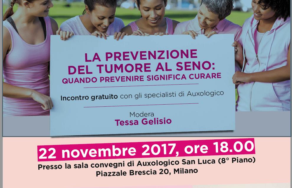 prevenzione del tumore al seno auxologico