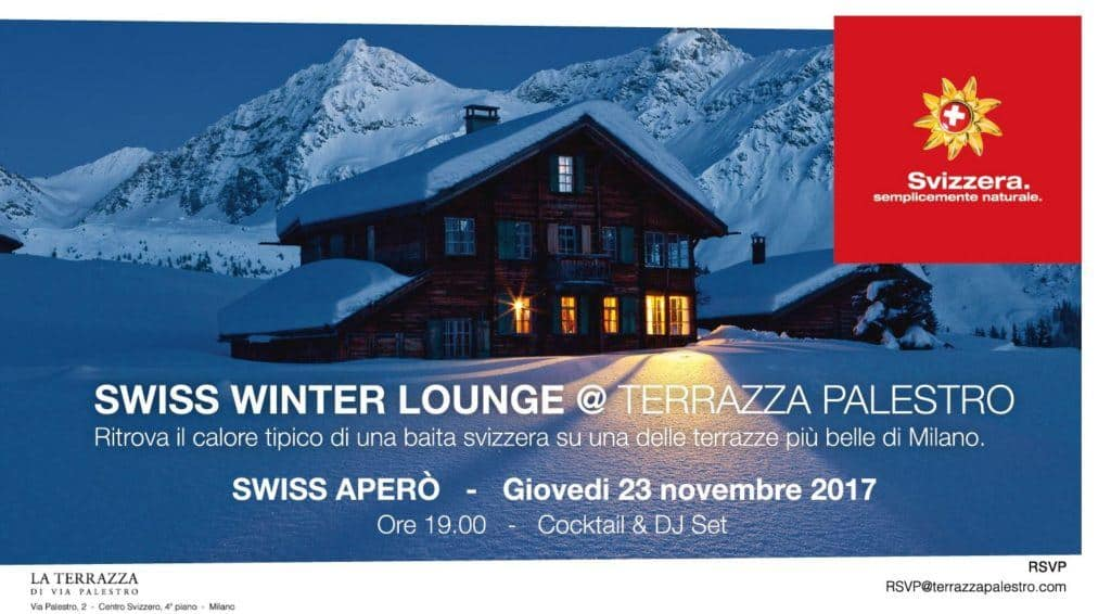 Swiss Winter Lounge @ Terrazza Palestro Milano