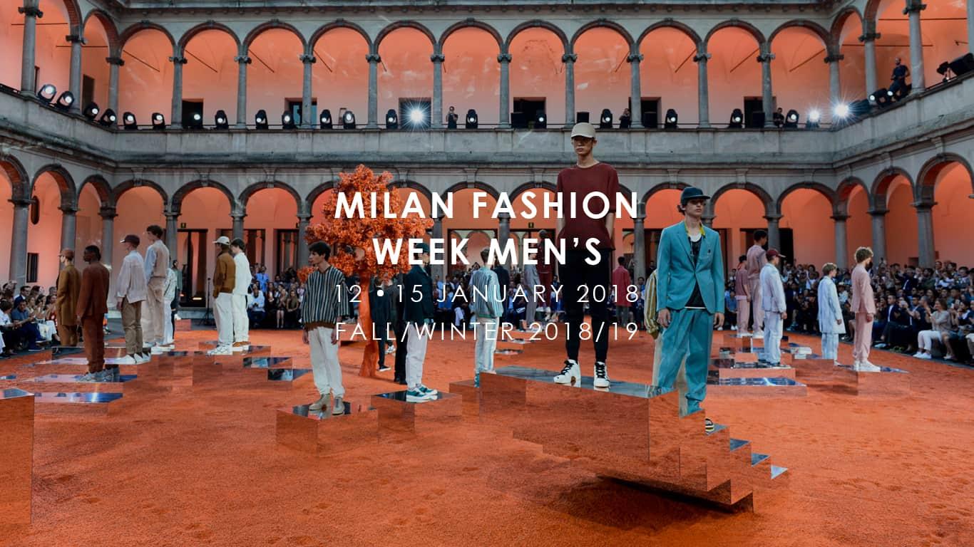 Milano moda uomo 2018 calendario sfilate ed eventi in for Settimana della moda milano 2018