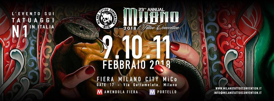 milano tatoo convention 2018