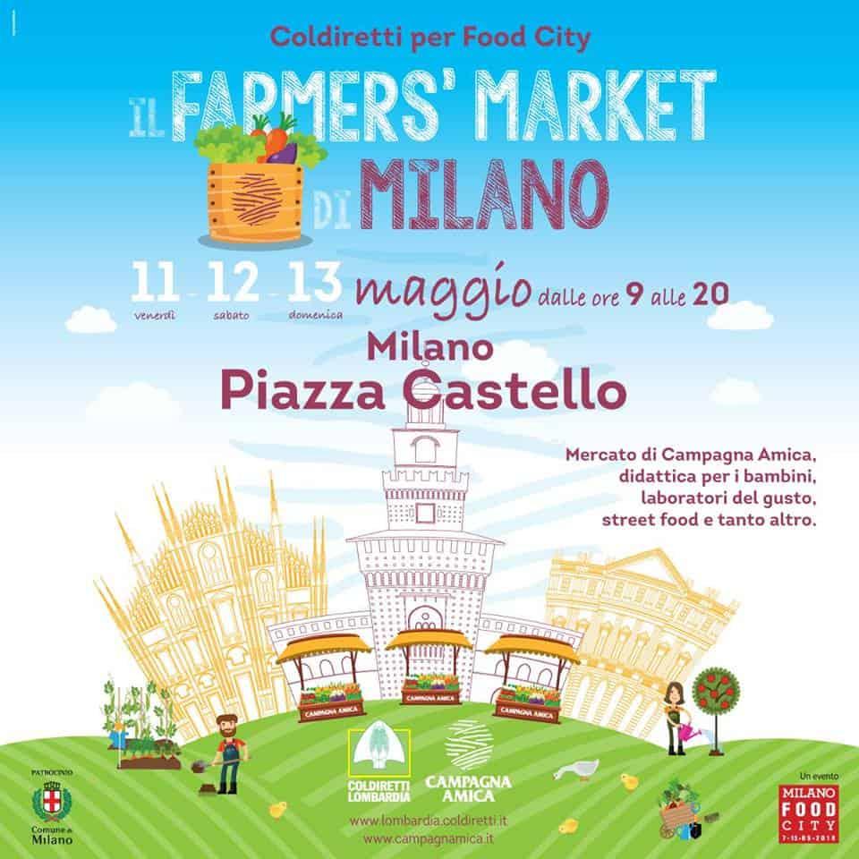 farmer market castello milano food city