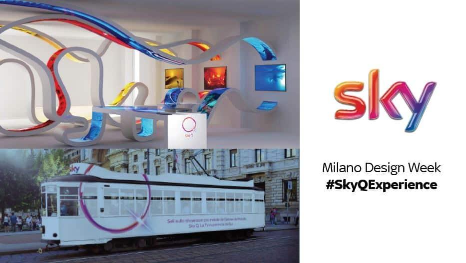 tram sky milano #SkyQExperience