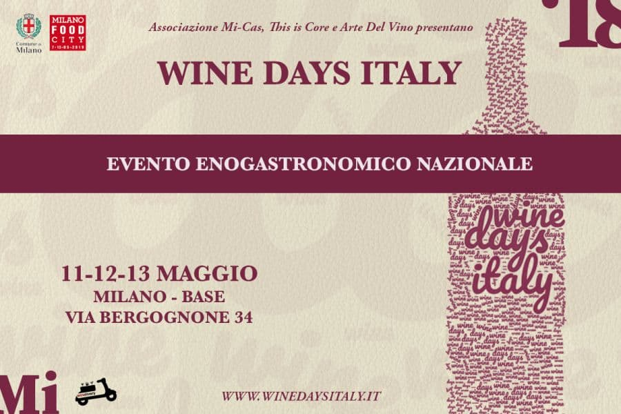 WINE DAYS ITALY milano food city