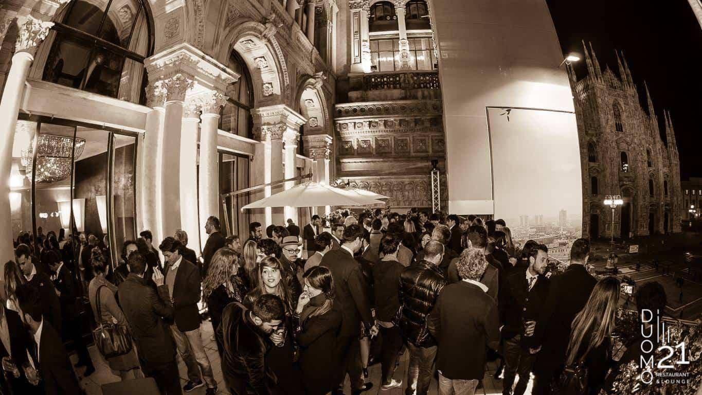 Terrazza Duomo21 Il Capodanno 2020 Più Esclusivo Di Milano