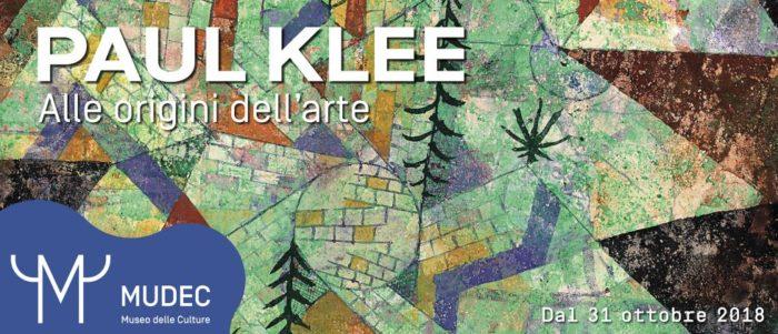 Paul Klee Alle origini dell'arte MILANO