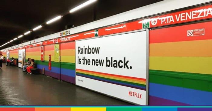 metro porta venezia arcobaleno